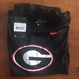 University of Georgia UGA Bulldogs DryFit Nike XL